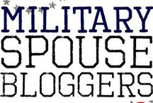 Military Bloggers We Love / MB loves to share Military Bloggers!  There are so many wonderful bloggers that share tips on all aspects of military life.  If you would like to be featured on our website and board please email us at info@militarybridge.com