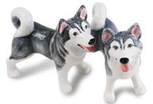 Dog Salt and Pepper Shakers / Our favourite dog salt and pepper shakers.