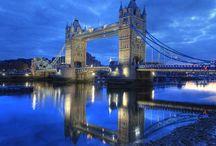 London, UK / February, 2015; March, 2014 London, Oxford, Bath ...