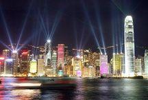 Hong Kong, China / April, 2014: Hong Kong, Macau