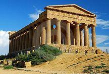 Ancient Greek Architecture / 시실리섬에 있는 고대 그리스 건축물