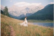 Spring Wedding Inspiration / Pinned by A Colorado Courtship Blog