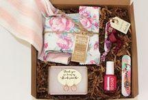 bridesmaids gift boxes ideas