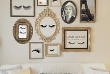 living room Lashes / Decoração de Estúdios lashes