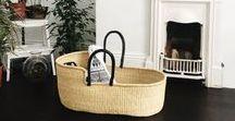 Moses Baskets / Moses Basket - Tilly + Cub fair trade hand woven eco friendly charity donation ghana