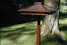 Mission Oak Lamp