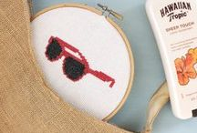 Embroidery / Get our popular (and free!) embroidery and cross-stitch patterns. See more at https://makeityourselfmagazine.com/tag/embroidery-crafts!