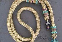 Kumihimo & Loom & Beadwork jewellery