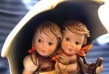 Collectibles - Goebel Hummel figurines / Collection of little people figurines made by goebel hummel / by Debbie Zirn