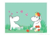 Moomins and other illustrasions by Tove Jansson / Tove Jansson's illustrations, photos...