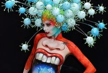 Body painting / Body painting, face painting, mace-up art...