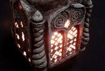Ceramika-Świeczniki,lampki,podgrzewacze