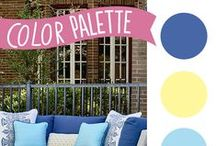Color Inspiration / You'll never pick the wrong color again with these color palettes from makeityourselfmagazine.com. Get more inspiration at https://makeityourselfmagazine.com/tag/color!