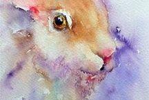 Animal's painting