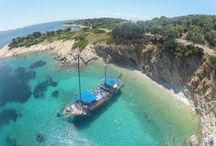 The M/S Christina, Charter & Daily Cruise Boat / The M/S Christina runs a daily cruise from Nidri, Lefkada to the beautiful islands of Kastos and Kalamos (between May and October).  Also available for weddings, private day charter, evening cruises, hen and stag parties