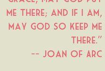 Joan of arc / by Lynn Weatherill