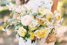 YELLOW ~ TO HAVE & TO HOLD / Yellow wedding & event flowers.  Yellow bouquets, yellow flowers, yellow centerpieces.