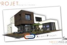 Avant-Projets Trecobat / Vous avez un projet de construction ? Consultez les avant-projets du Bureau d'étude Trecobat pour trouver VOTRE projet ! http://www.trecobat.fr/