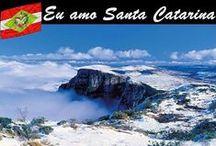 SANTA CATARINA- Sul do Brasil / MINHA SANTA E BELA CATARINA ❤