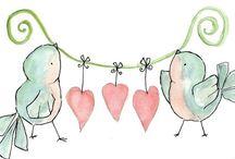 Birds / Neşeli kuşlar