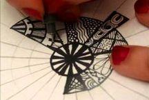 Zentangle & Doodles / dibujos,diseños