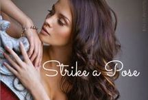 Strike a Pose / Ideas and inspiration for photography poses