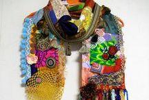 bufandas, chals / ponchos / Accesorios & mas