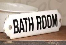 BADEZIMMER - BATHROOM / Rund um`s Badezimmer...