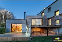 Extension bois à Brest / Sébastien et Morgane ont fait construire une extension bois dans leur maison à Brest. Une extension bois qui a tout changé ! Reportage… http://bit.ly/1CdiGi9