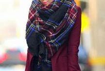 Moda | Lenços\Cachecol\Scarf / Como usar lenços em vários looks.