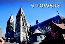 5 TOWERS of Tournai