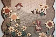 pendones, tapetes & truhp / Quilting varios estilos