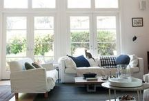 Living Room. Rugs / Stunning living rooms and great rooms with area rugs.
