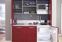 Cucine per piccoli spazi / Mini cucine, cucine a scomparsa, monoblocco, a vista o componibili: tutte con la caratteristica di essere state progettate e create per i piccoli spazi.