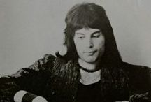 "Freddie Mercury / ""On maracas and sometimes vocals, Mr Freddie Mercury!"" -Brian May, Live Killers, 1979."