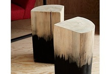 Wood - Trunks & Stools