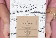 "Pretty Paper / Nothing says ""style"" more than super-cool wedding stationery. It's the very first piece of your wedding design that your guests see, so you may as well make a statement!"