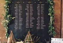 Find your seat / Cool and inspirational escort cards and table plan designs themes and ideas