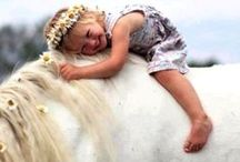 Horses and their people...and pets? ;)