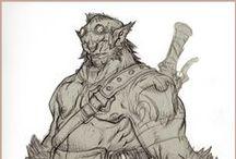 Warriors & Monsters / by Yusuf Devrim