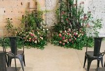 Ceremony space / Themes and ideas for dressing your wedding ceremony space - from floral arches to mismatched chairs