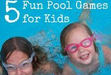 Pool Games for Kids / Swimming pool games for kids (babies, toddlers and teens)