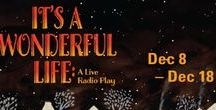 It's a Wonderful Life: A Live Radio Play / Last Season's Holiday Hit returns Dec 8-18, 2016 to Raven Healdsburg! The beloved American classic comes to captivating life as a live 1940's radio broadcast. A Raven Players production. www.raventheater.org