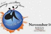 "2015 Dancing with the Stars at the Raven / Dress Nov 11th / Show Nov 14th, 2015. Local celebrities, ""Stars"" pair with dance professionals to compete for your votes.An entertaining, rousing fundraiser benefiting the Raven Theater! http://www.raventheater.org/index.php?p=13 / by Raven Performing Arts Theater"