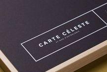 carte céleste - édition noir - blanc / Collectif YAY — Papeterie