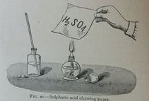 Second Hand Science / This board showcases the wonderful images found in older science books of disembodied hands demonstrating experiments and processes.