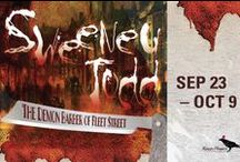 SWEENEY TODD, The Demon Barber of Fleet Street / Sep 23 - Oct 9, 2016 at Raven Healdsburg. In 19th century London, the barber Sweeney Todd vows revenge for his false imprisonment by the evil Judge Turpin in this brilliantly bloody Steven Sondheim musical. A Raven Players production.  www.raventheater.org