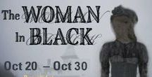 The Woman In Black / Oct 20 - 30, 2016. A lawyer recounts the story of the deadly specter and recreates the events of that dark and stormy night. A Raven Players production. Performed at Costeaux French Bakery. www.raventheater.org