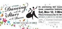 """2016 Dancing with the Stars at the Raven / Bringing  the North Bay to its feet -- literally! Annual entertaining, rousing fundraiser benefiting the Raven where local celebrities, """"Stars"""" pair with dance Professionals to compete for your votes. Two exciting and unique nights of dance! Thu Nov 10 & Sat Nov 12, 2016 at Raven Healdsburg. http://www.raventheater.org"""