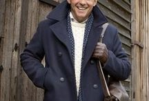 Winter Ready / In these colder months up to 90% of us is covered with clothes (Office of Made Up Statistics), so how we dress really is important, not only for keeping us warm but looking great too. Make an impression in one of our dashing Harris Tweeds, add texture with an Aran Jumper or finish your Winter outfit with a Lambswool scarf and jaunty hat.
